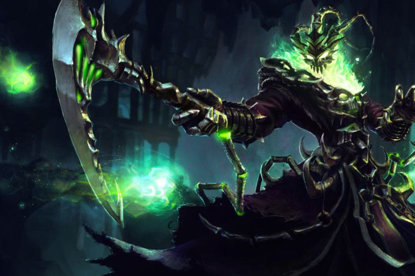 29 Thresh (League Of Legends) HD Wallpapers | Backgrounds - Wallpaper Abyss