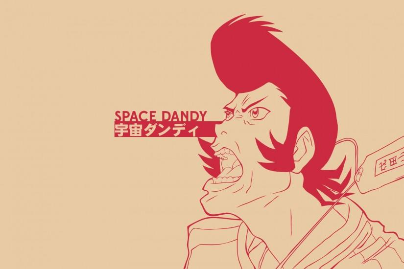 Made a Space Dandy wallpaper [1920x1080] ...