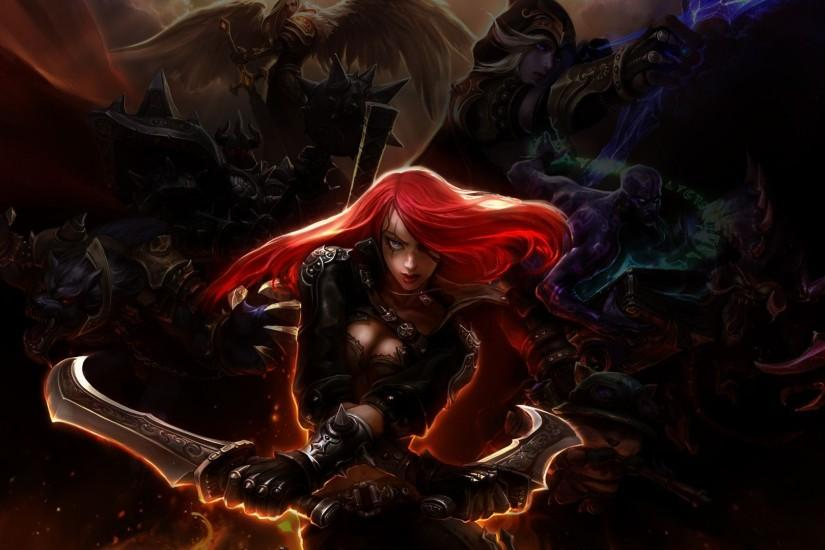 Katarina - League of Legends Wallpaper #