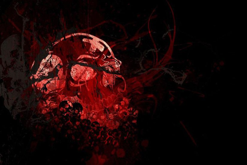 Skull HD Wallpapers Backgrounds Wallpaper 2560×1440 Red And Black Skull  Wallpapers (44 Wallpapers