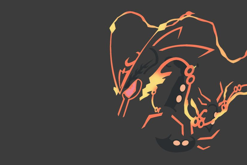 Mega Shiny Rayquaza Wallpaper by dracodragonblast on DeviantArt