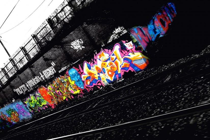 Graffiti City widescreen high quality wallpaper