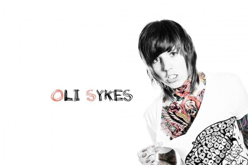 Preview wallpaper bring me the horizon, oli sykes, tatoo, t-shirt,