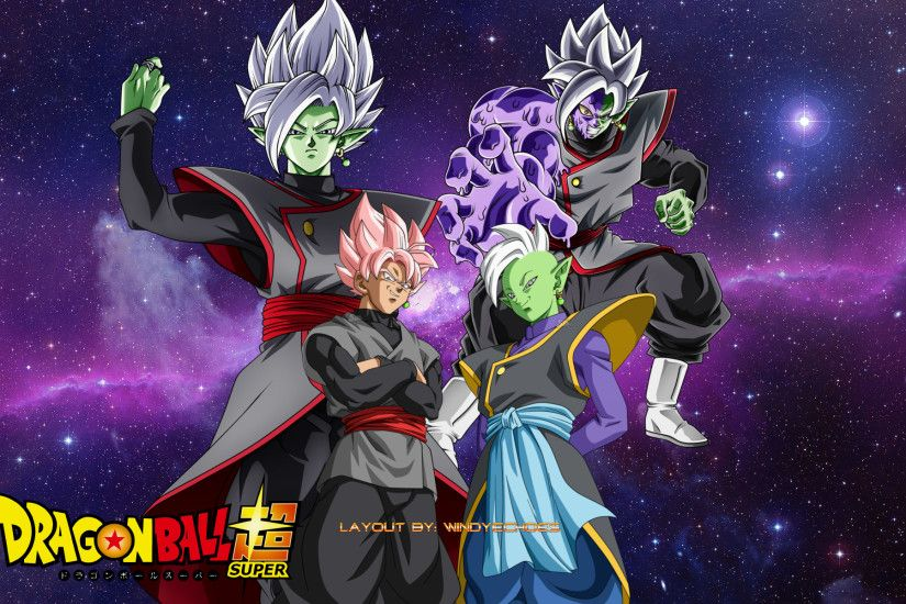 ... Goku Black And Zamasu Future Evolution Wallpaper by WindyEchoes