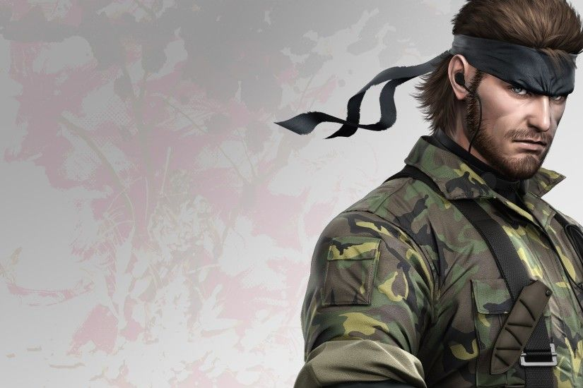 Metal Gear Solid [ wallpaper Game wallpapers | HD Wallpapers .