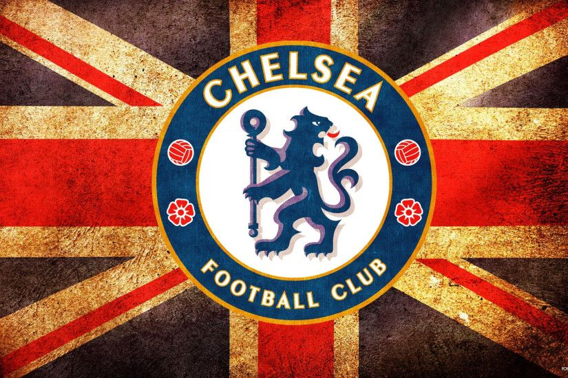 1920x1080 Uk Flag Chelsea Fc Crest