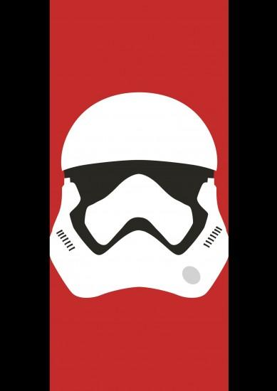 First Order Stormtrooper Helmet Vector - Star Wars by firedragonmatty