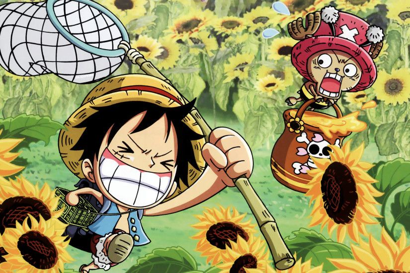 ... Attachment file for Funny One Piece Wallpaper - Luffy and Tony Tony  Chopper ...