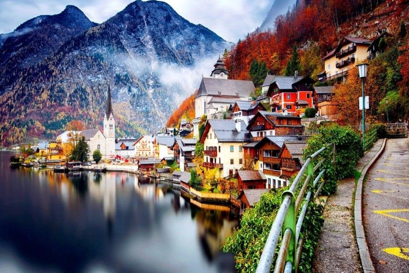 Hallstatt Austria Desktop Wallpapers - THIS Wallpaper Austria, Landscape,  Hallstatt, Lake Wallpapers HD / Desktop and .
