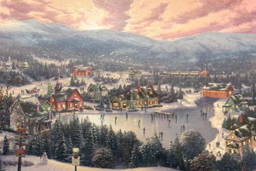 Thomas Kinkade images Thomas Kinkade HD wallpaper and background photos