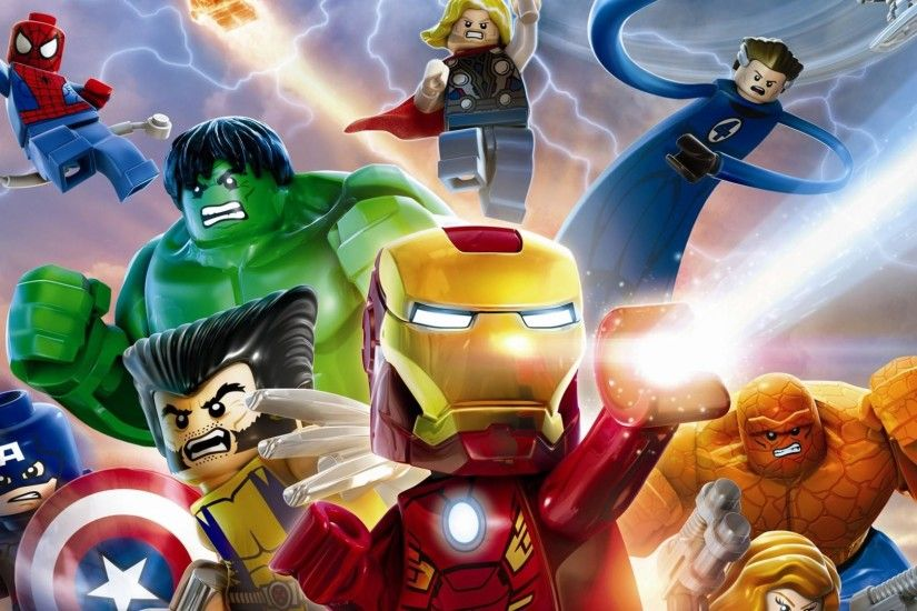 Download Wallpaper Heroes Game Lego Marvel Super Heroes (1920 x .