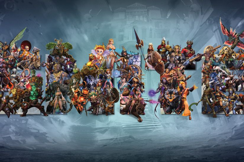 SMITE's Gods Wallpaper by Getsukeii SMITE's Gods Wallpaper by Getsukeii