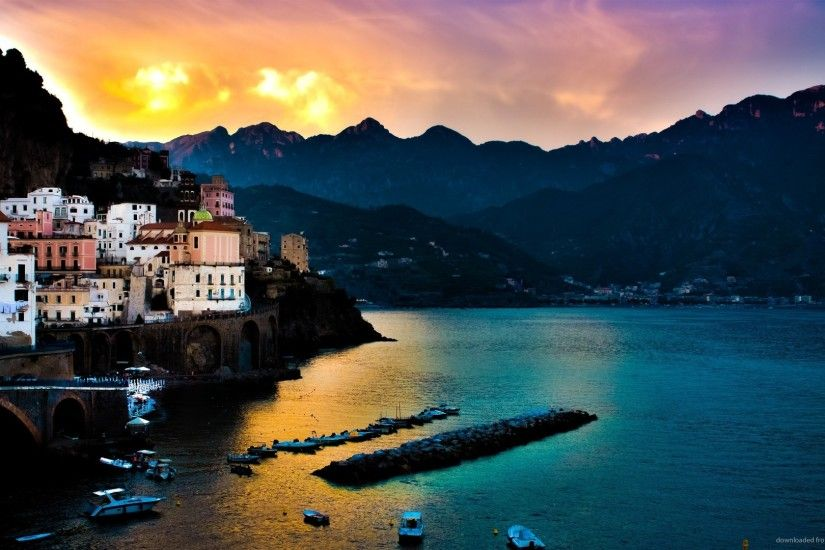 Amalfi Coast in Italy picture