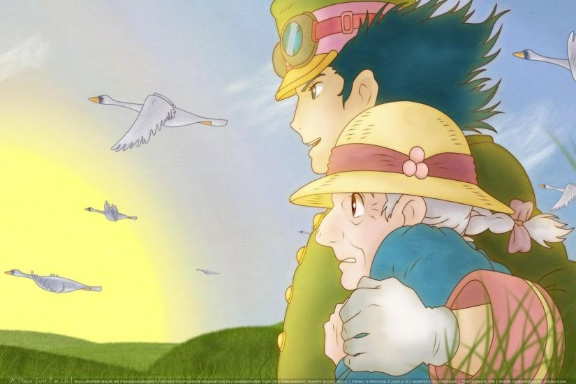 howls moving castle wallpaper 1920x1200 images
