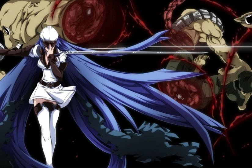 Akame Ga Kill Esdeath Wallpaper