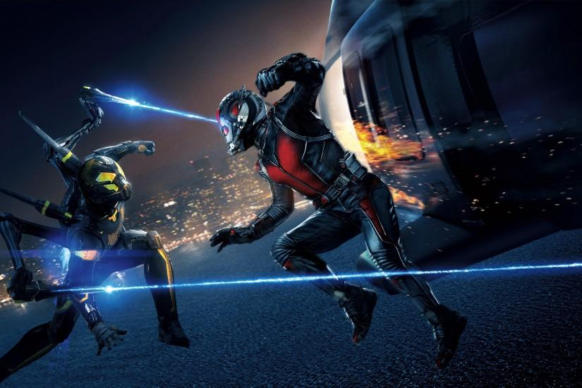 Yellowjacket Ant Man Movie Wallpaper - New HD Wallpapers