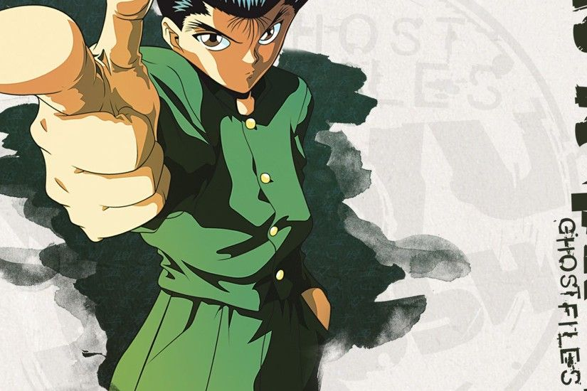 Yusuke Urameshi Yu Yu Hakusho 1080p HD Wallpaper Background
