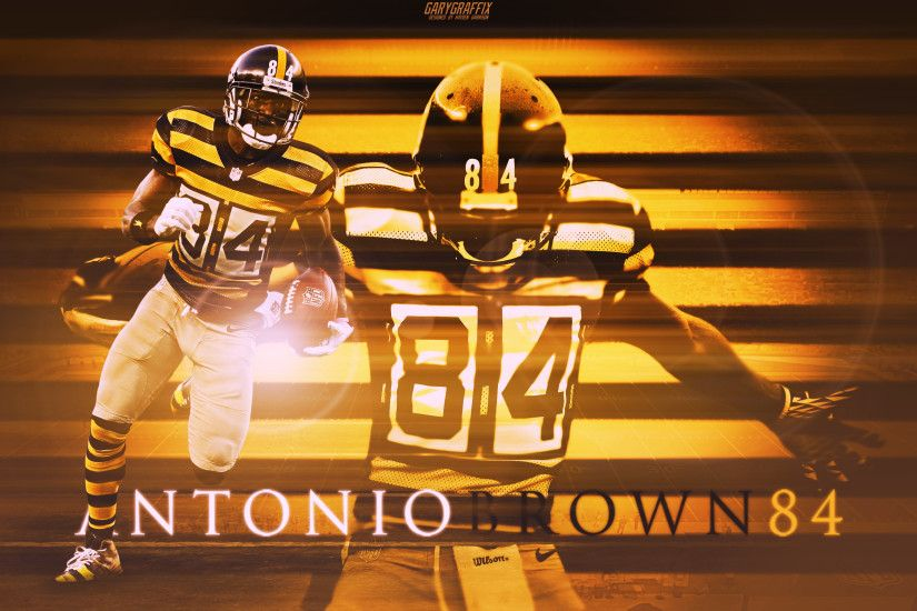 Picture. Antonio Brown Steelers Wallpaper