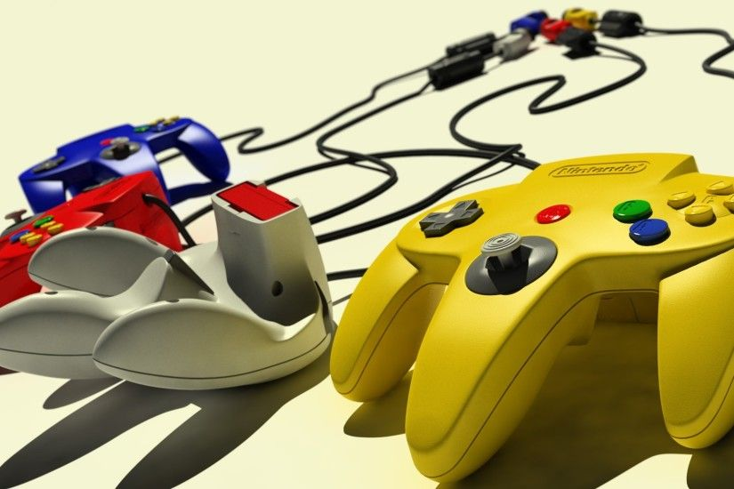 Nintendo 64, Retro Games, Controllers Wallpapers HD / Desktop and Mobile  Backgrounds