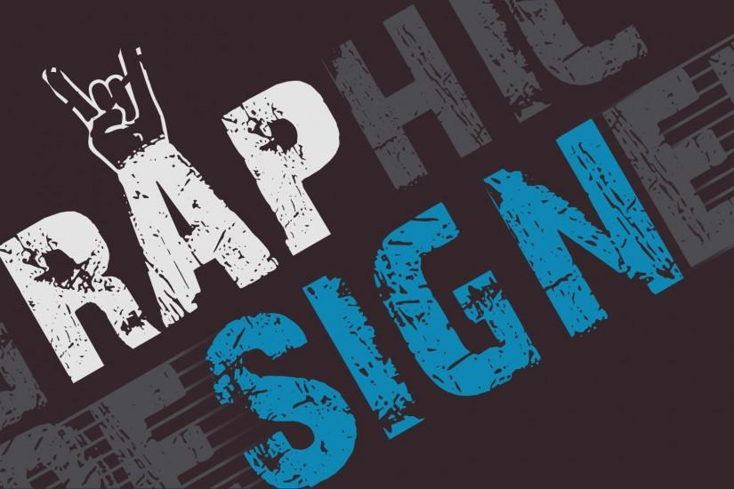 ... Graphic-Designer - Rap-Sign Wallpaper by GovectorZ