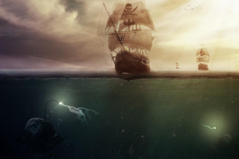Fantasy - Pirate Wallpaper