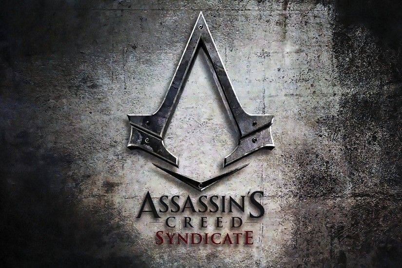 Assassins creed syndicate cool logo wallpaper hd.