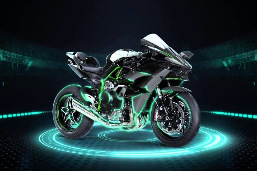 Kawasaki Ninja H2R Moto HD Wallpaper | Motorcycles HD Wallpaper .