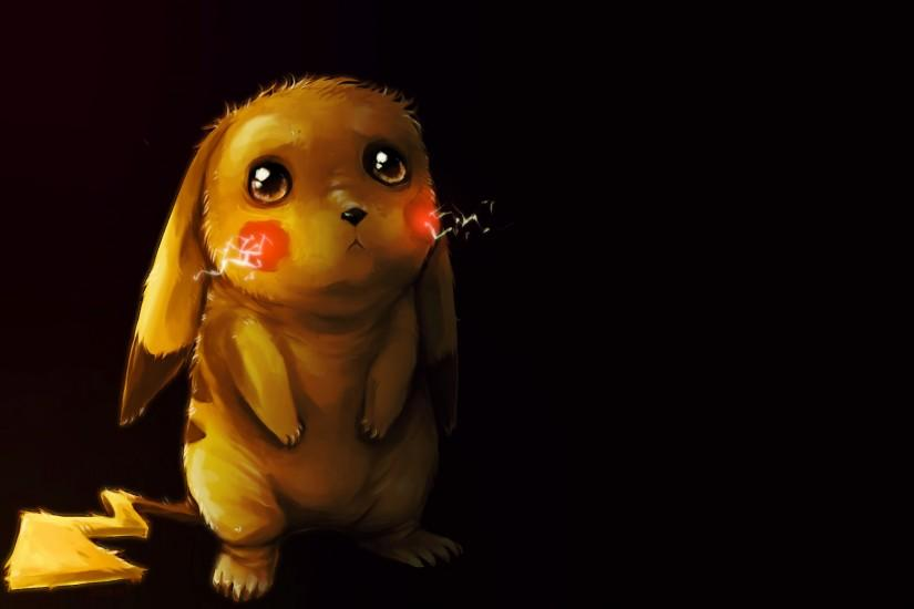 Anime - Pokemon Pikachu Pokémon Sad Cute Electric Pokémon Wallpaper