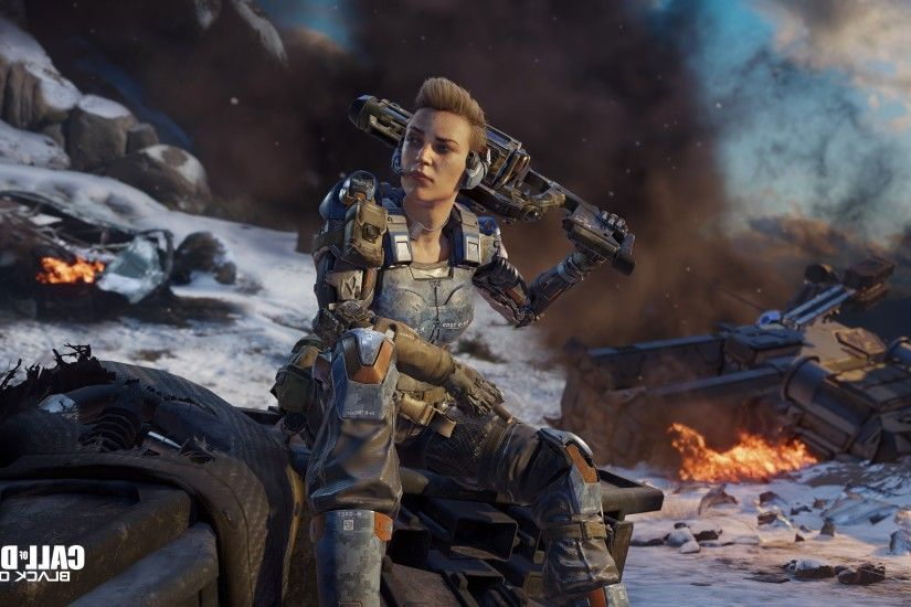 Call of Duty Black Ops 3 Game 2048x1152 Resolution