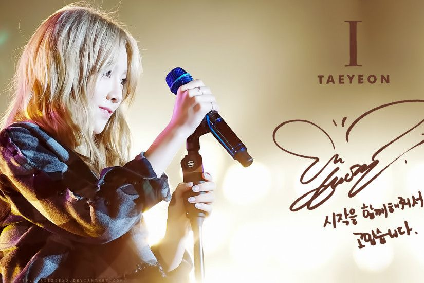 ... Taeyeon I HD Wallpaper 4 by Rizzie23