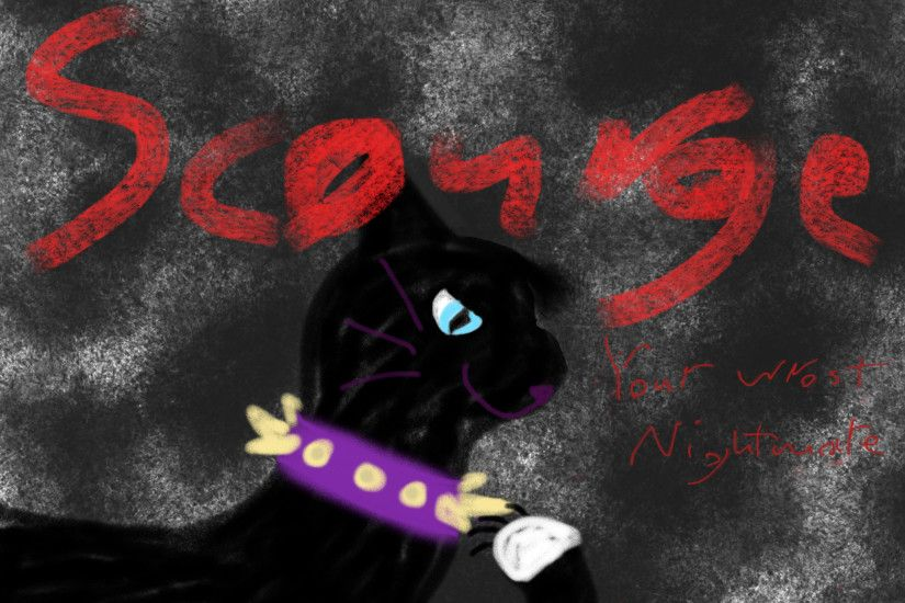 warrior Cats club karatasi la kupamba ukuta called Scourge