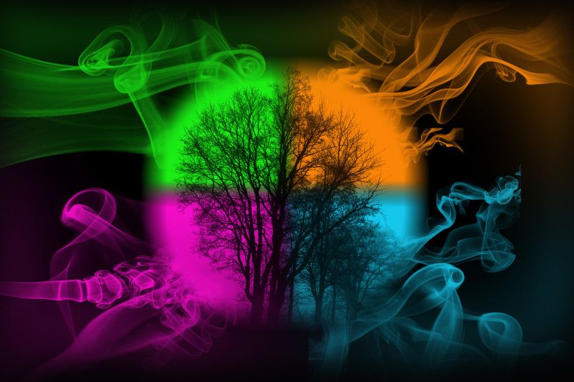Colorful Smoke Backgrounds.