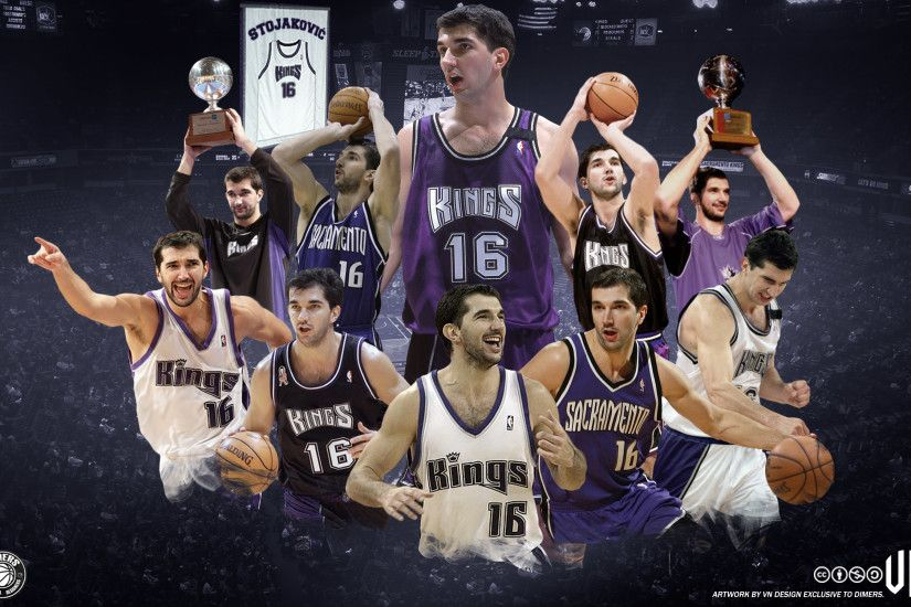 Peja Stojakovic Kings Wallpaper
