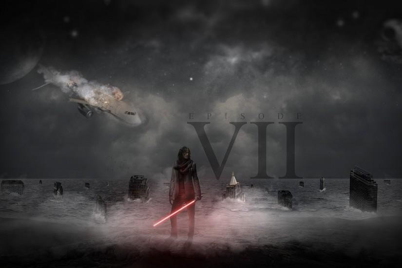Star Wars Episode VII - my vision - wallpaper by MichalNowak on .