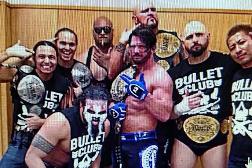 Wwe. Breaking news aj styles going. Wwe bullet club