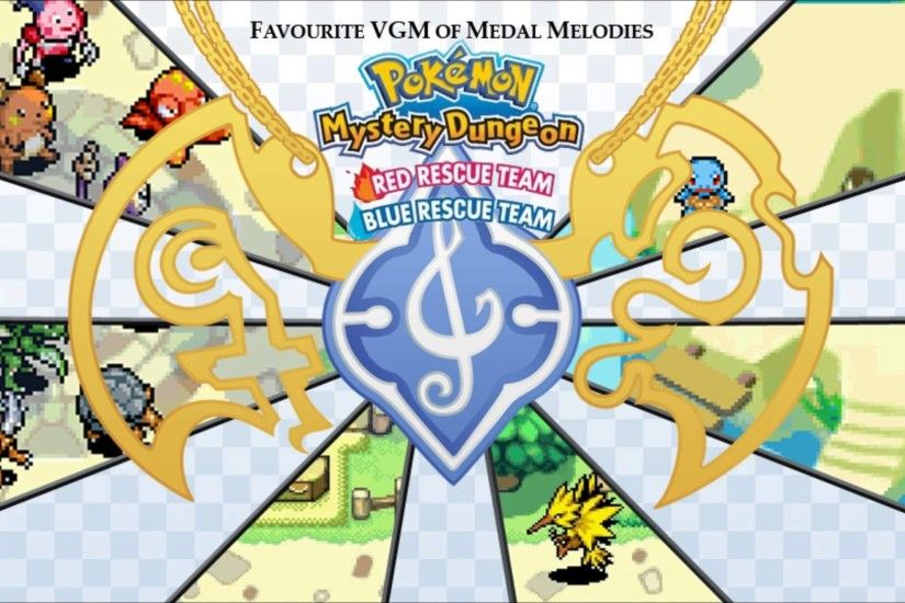 Golden VGM #975 - Pokémon Mystery Dungeon: Red / Blue Rescue Team ~ Great  Canyon