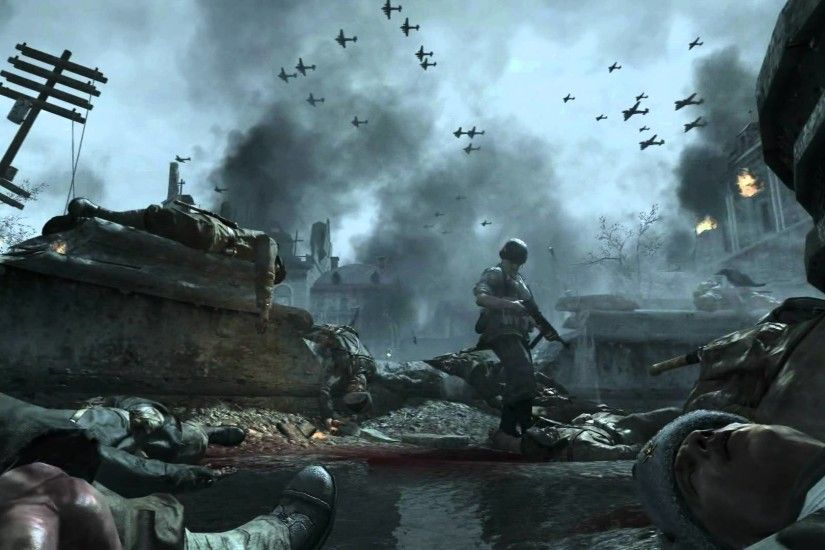 Call Of Duty World At War, 1920x1080 px - By Tarah Kammer