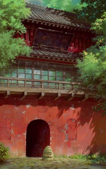 The great masterpiece by Hayao Miyazaki. Spirited Away. Created by Studio  Ghibli. Spirited