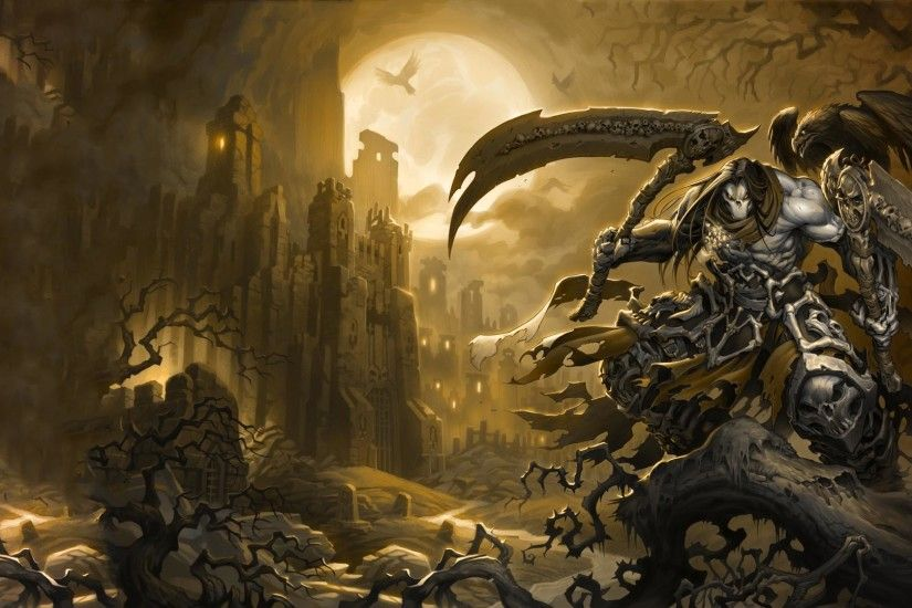 Darksiders Wallpaper HD - WallpaperSafari