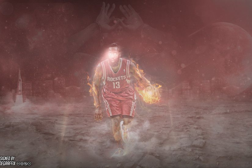 Recently made a James Harden wallpaper that I thought you guys would like!