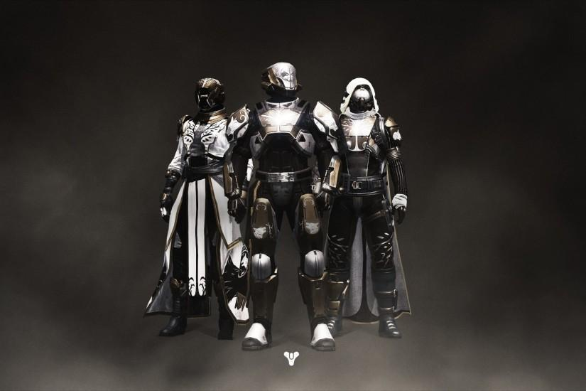 destiny rise of iron wallpaper with guardian classes