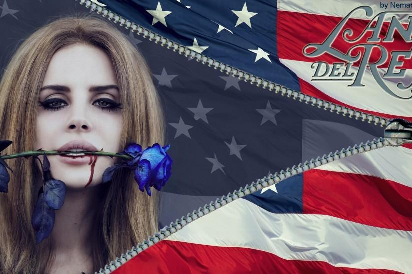 Lana Del Rey Wide Wallpaper by ngrubor