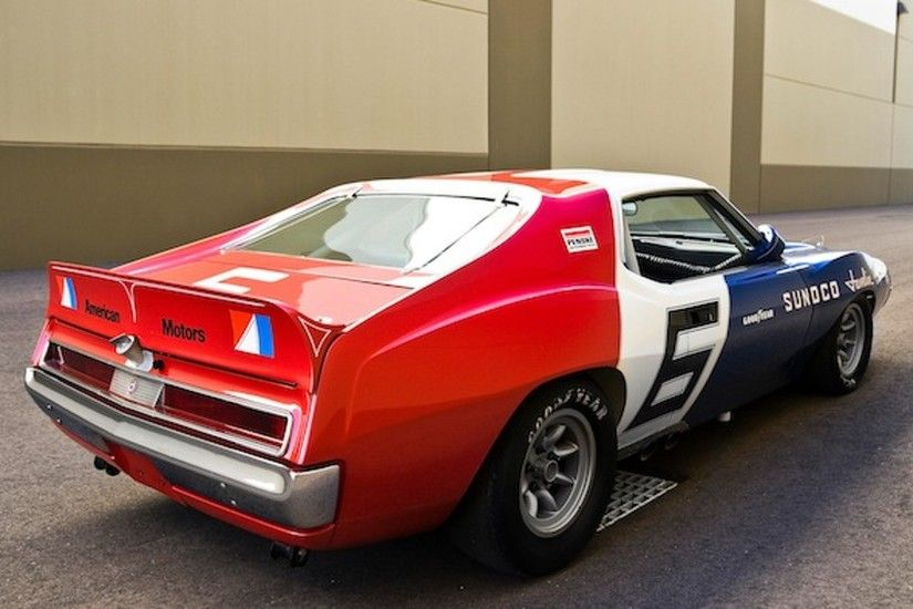 Wheels Wallpaper: AMC Javelin Trans-Am Racer product 2013-04-12 08:02:47