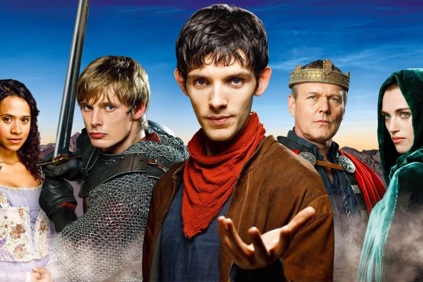 TV Show - Merlin Merlin (TV Show) Cast Wallpaper