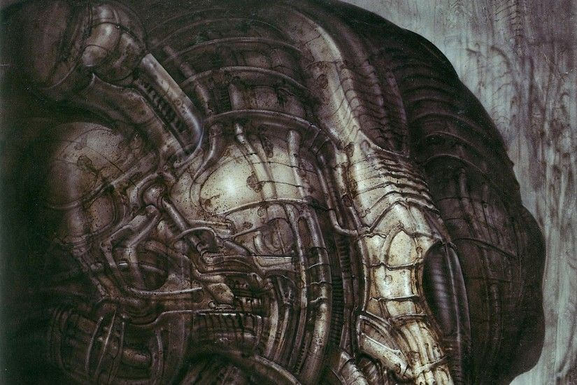 hr giger 2412x3444 wallpaper Art HD Wallpaper