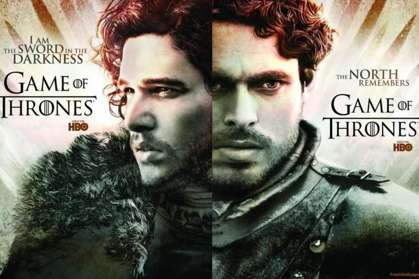 robb-stark-and-jon-snow Wallpaper: 2560x1600