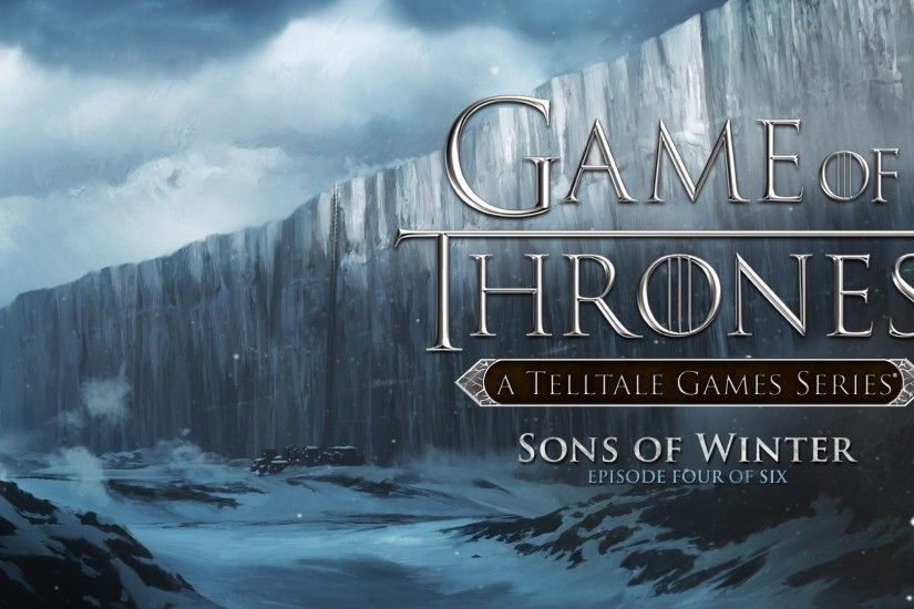 Telltale Games has revealed the first screenshots from the upcoming fourth  episode in its Game of White Stark Direwolf Winter is coming Game of ...