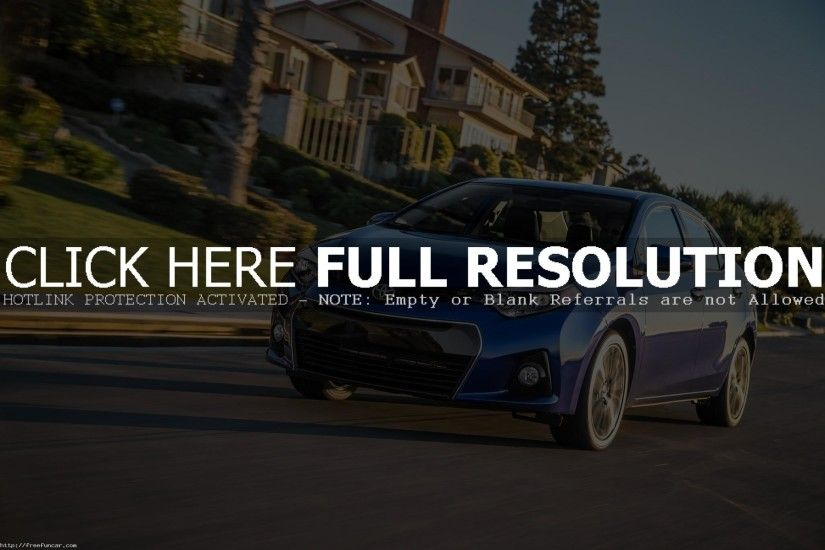 2015 TOYOTA COROLLA MOTION WALLPAPERS