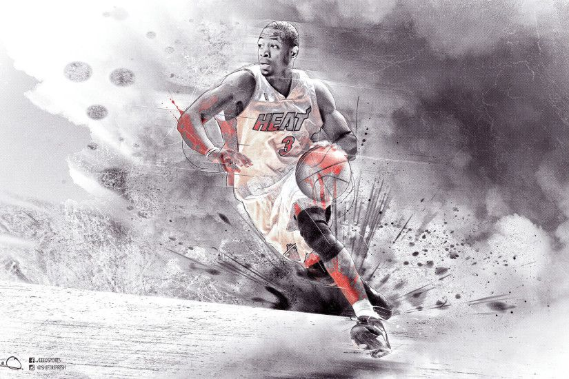 Dwyane Wade Heat HD 1920x1200 Wallpaper Images