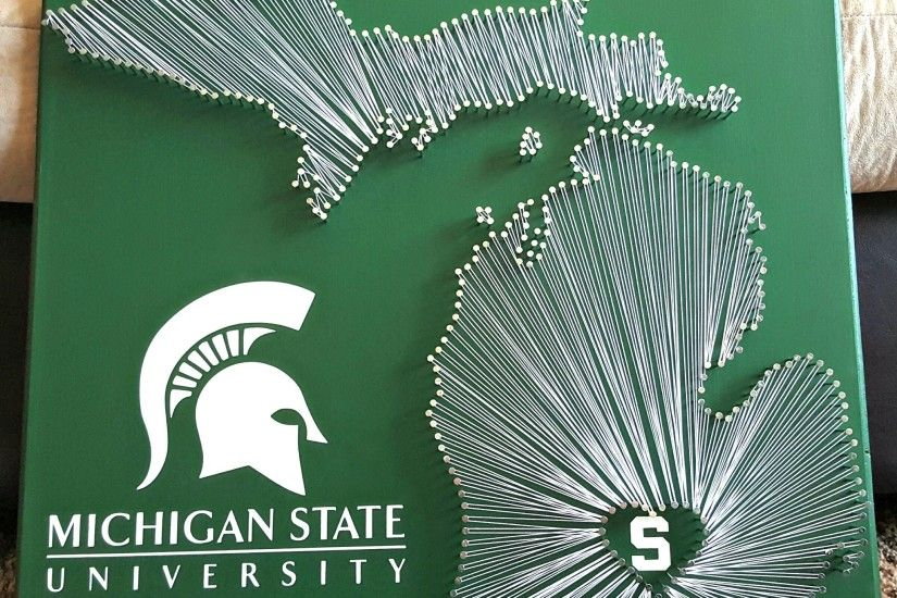 "20"" x 20"" Michigan State Spartans ..."